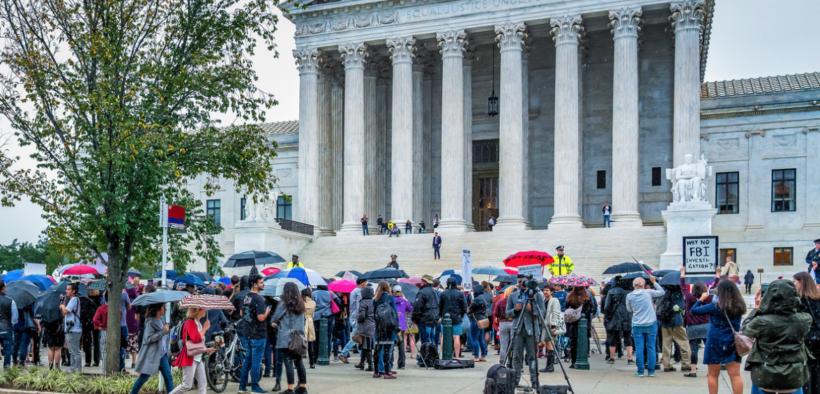 Supreme Court protest, September 27th, 2018,