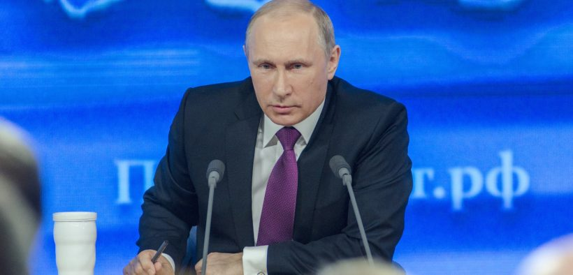Russian president Vladimir Putin,