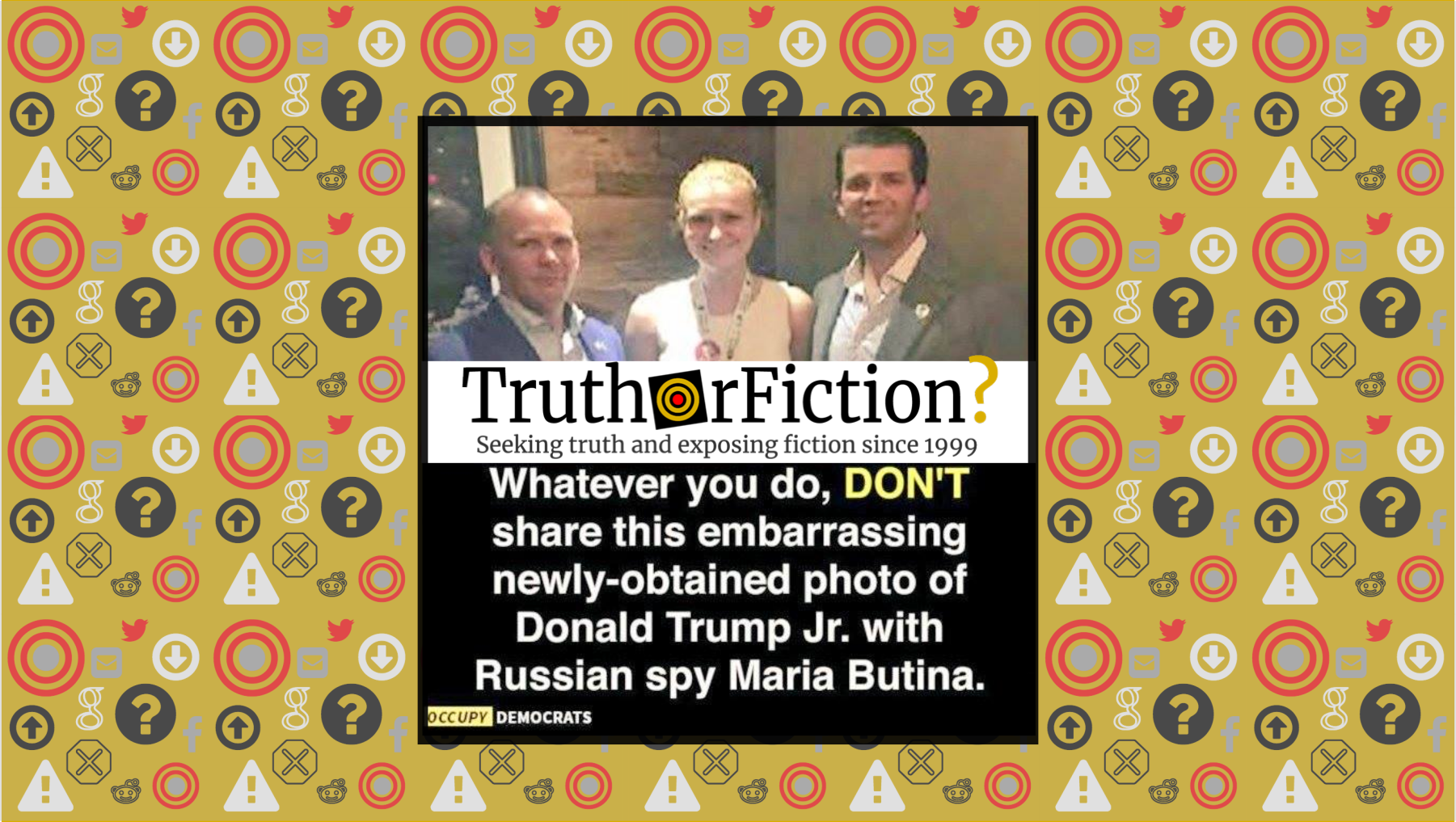 Does a 'Newly Obtained' Photograph Show Donald Trump, Jr. with Accused Spy Maria Butina?