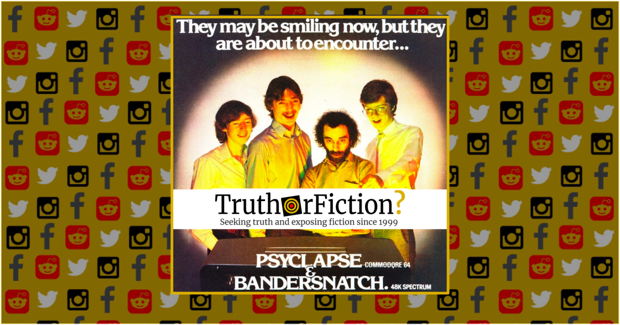 Is 'Bandersnatch' a Real Game?