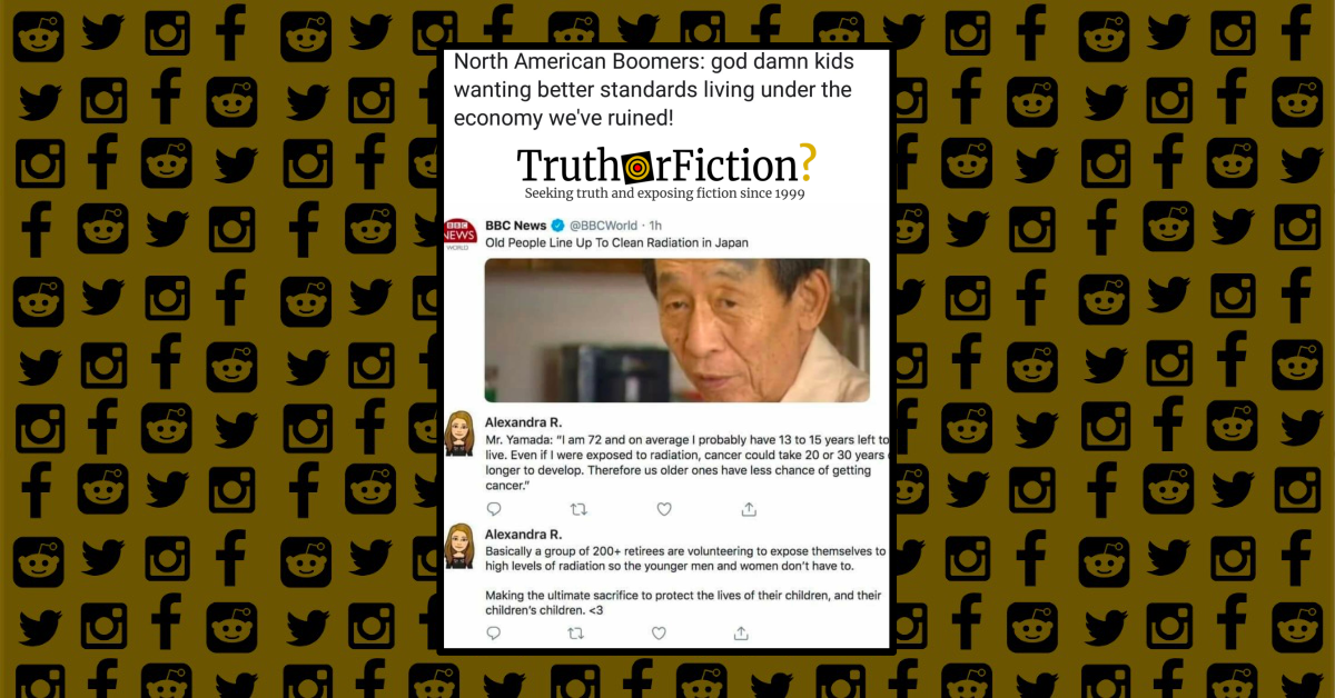 Is a Tweet Contrasting American and Japanese Generations Accurate?
