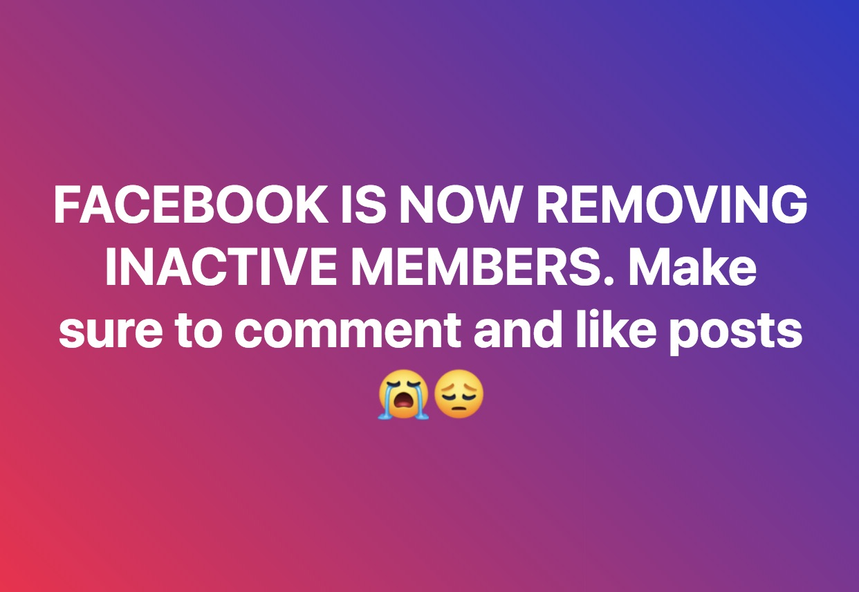Is Facebook Removing Inactive Members from Groups? - Truth