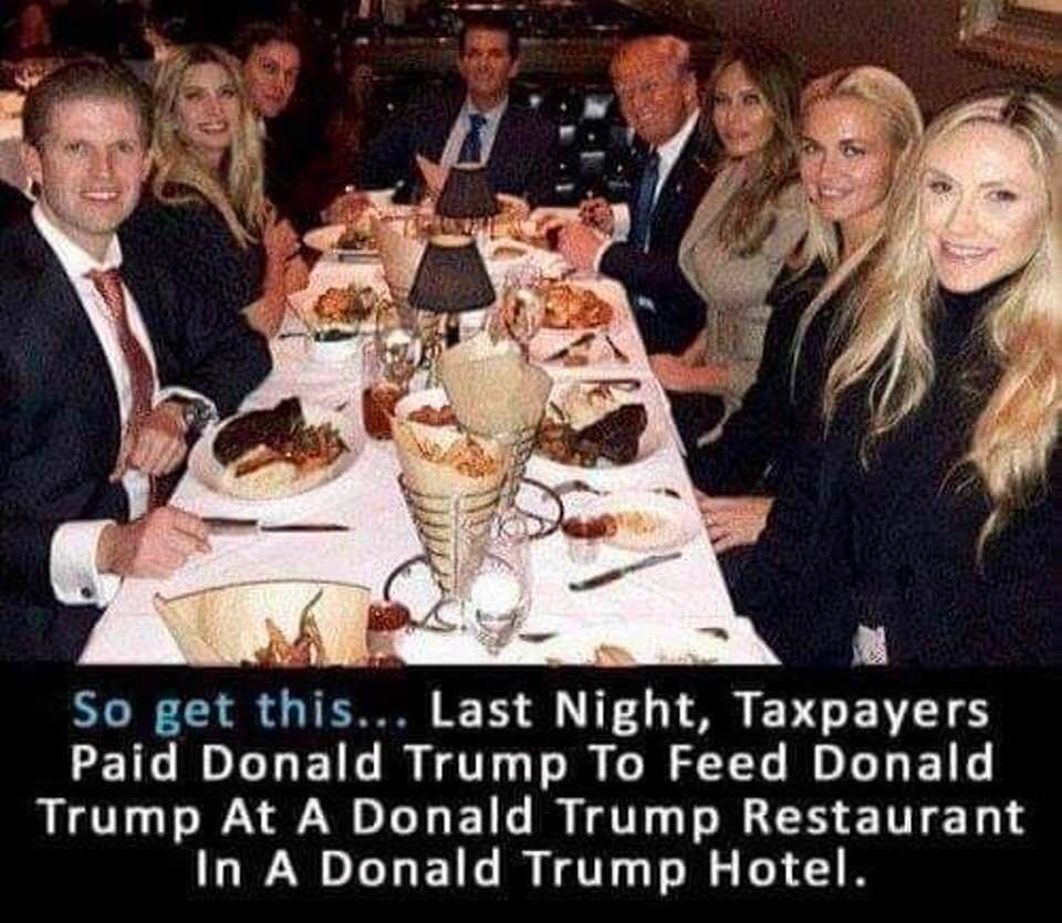 taxpayers-paid-donald-trump-to-feed-donald-trump