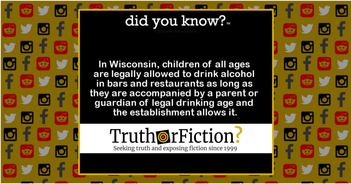 Are People of All Ages Allowed to Drink in Wisconsin?