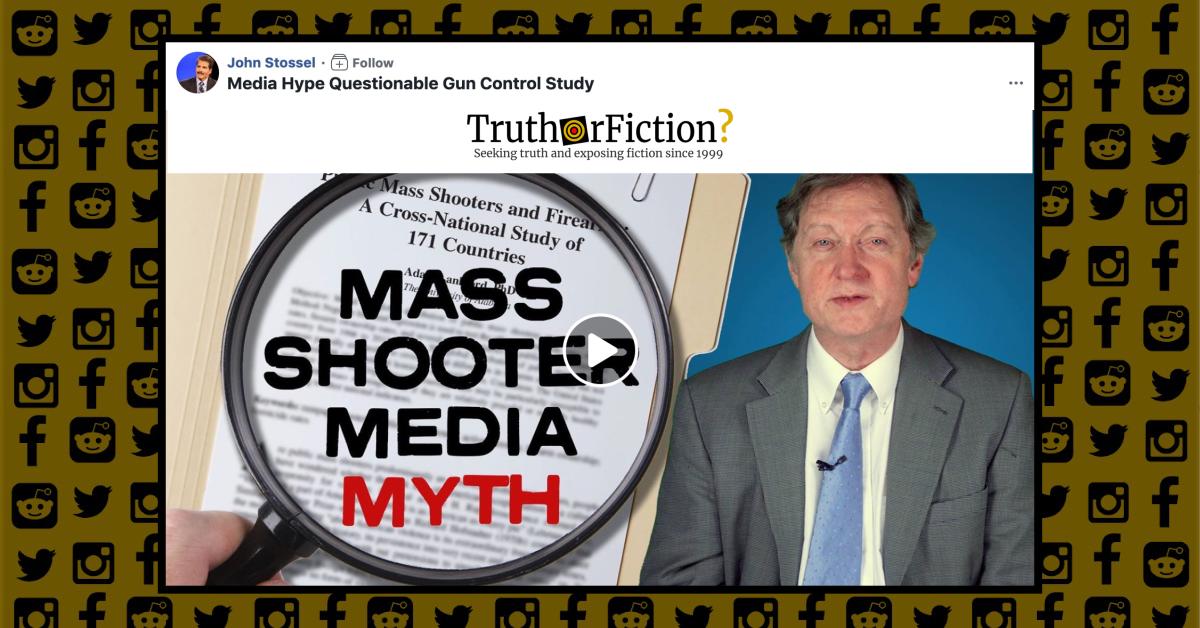 Mass Shooter Media Myth