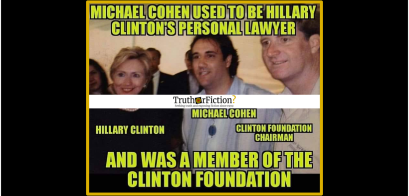 michael_cohen_hillary_clinton_personal_lawyer