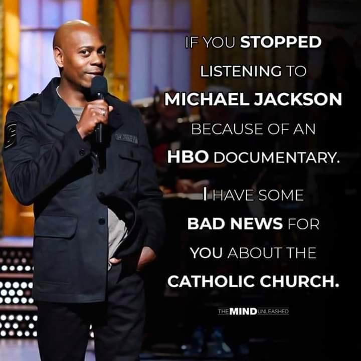 dave-chappelle-stopped-listening-michael-jackson-documentary-bad-news-catholic-church