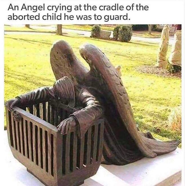 an-angel-crying-at-the-cradle-of-the-aborted-baby-he-was-to-guard