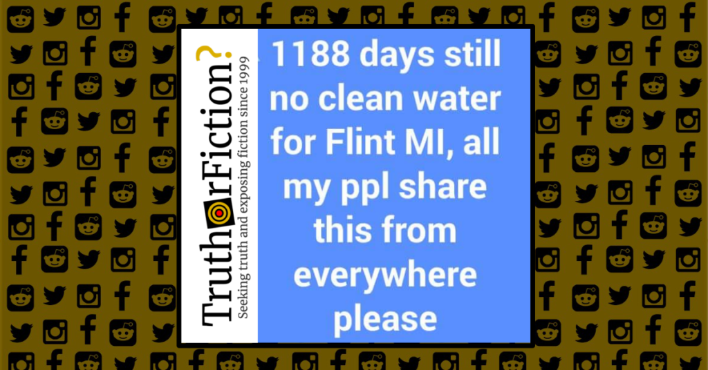 In Flint Mi Theres So Much Lead In >> Does Flint Still Not Have Clean Water Truth Or Fiction