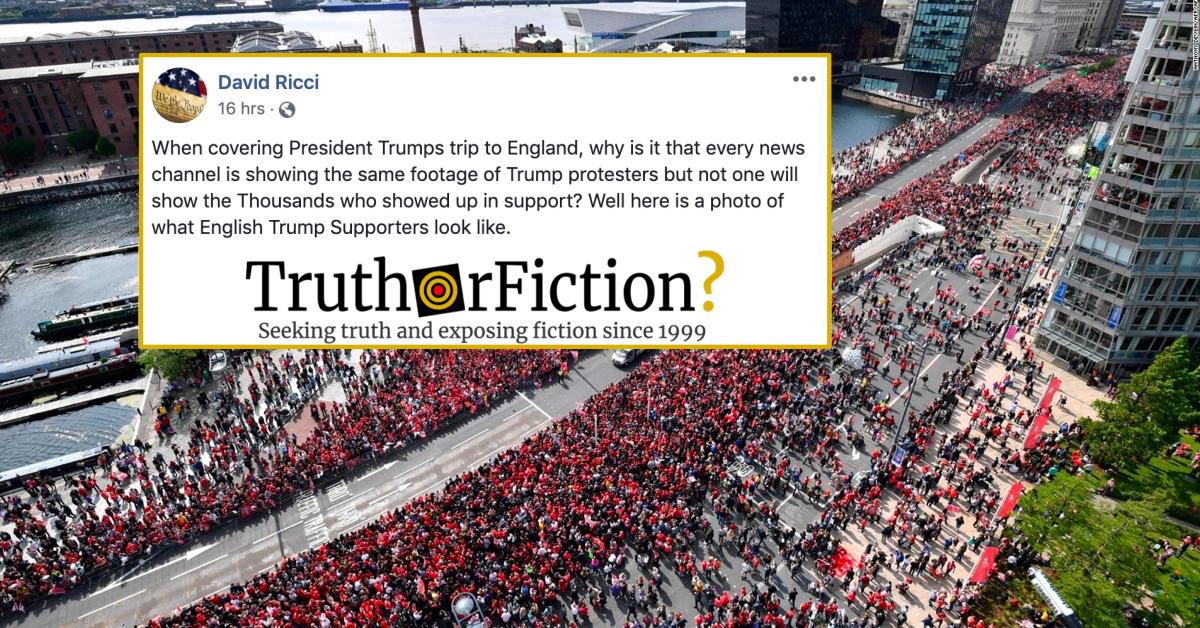 Donald Trump's British Fans?
