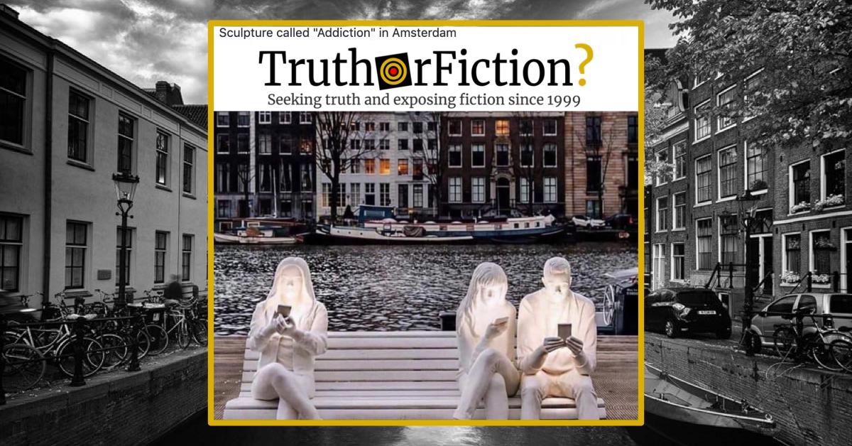 'Addiction' Sculpture in Amsterdam