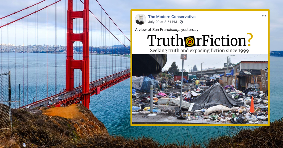A View of San Francisco 'Yesterday'?