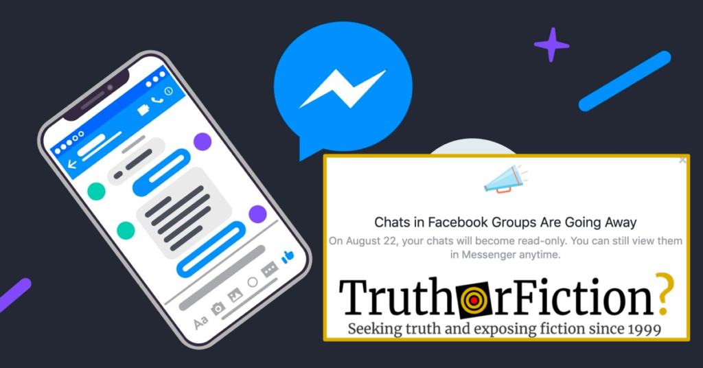 Is Facebook Ending Group Chats? - Truth or Fiction?