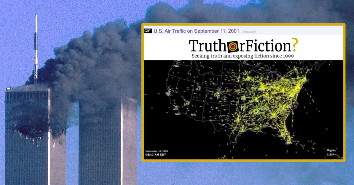 United States Air Traffic on September 11, 2001