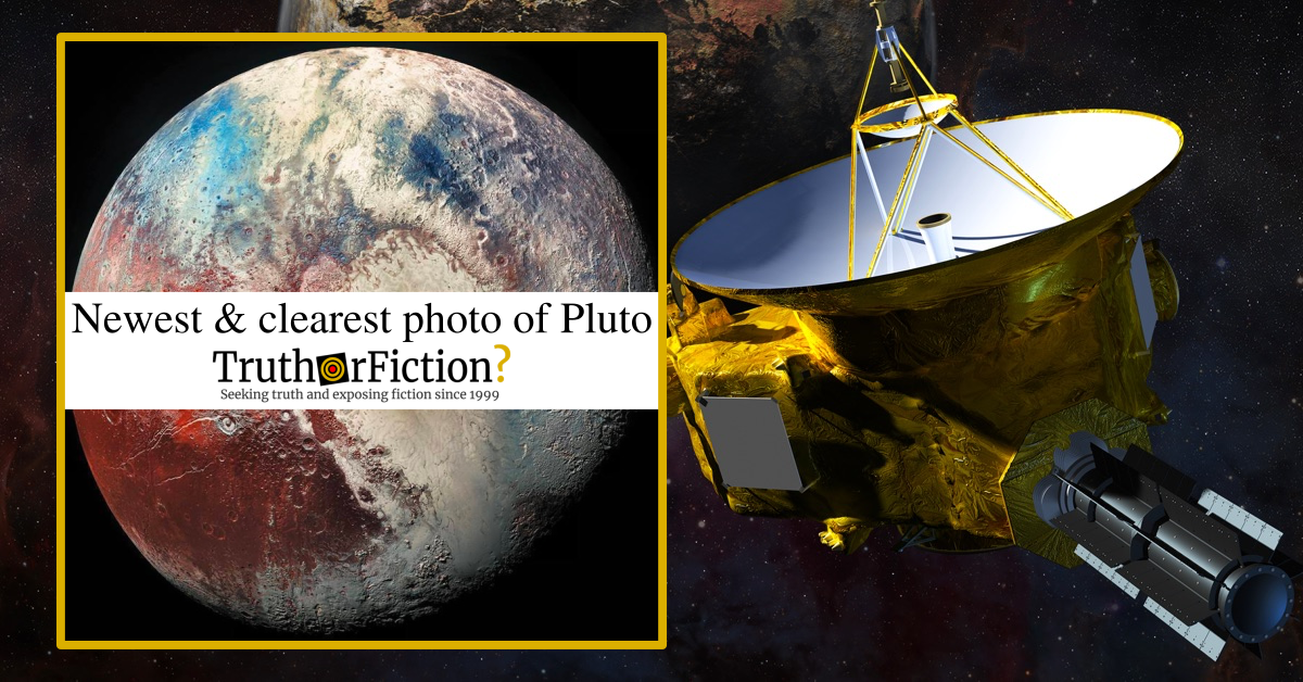 Is This the 'Newest and Clearest' Photo of Pluto?
