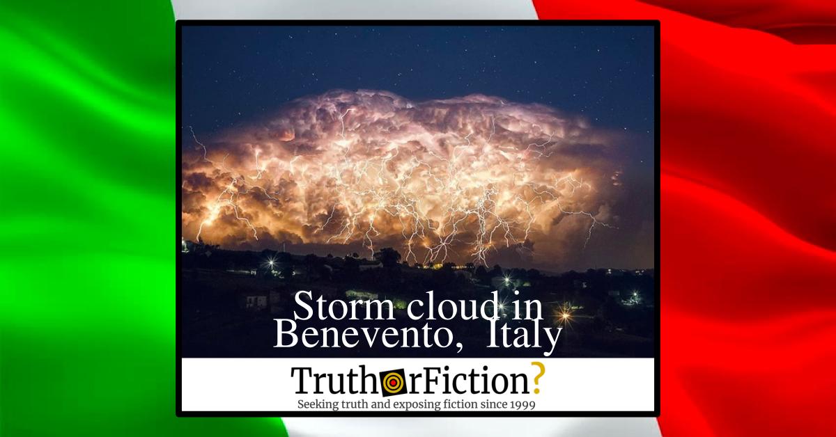 Storm Cloud in Benevento