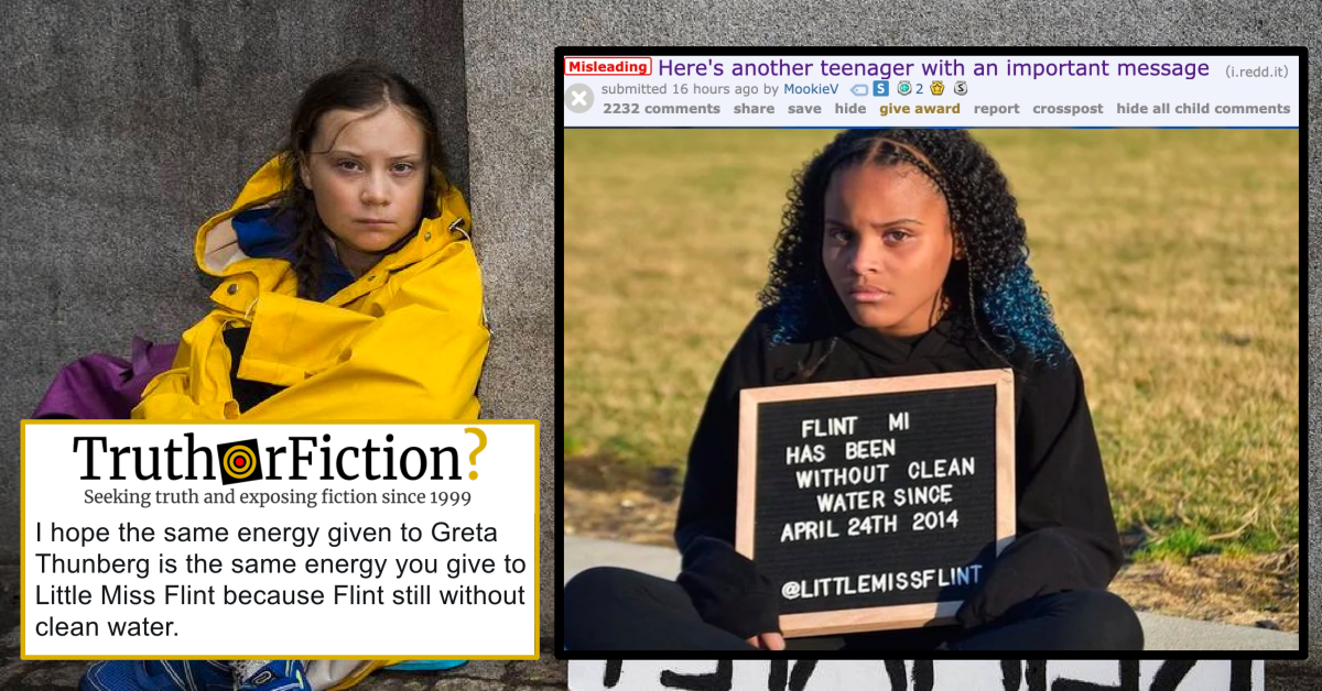 'Another Teenager with an Important Message' (About the Flint Water Crisis)