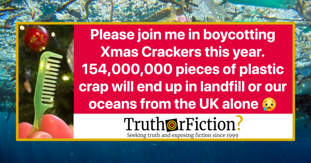 Christmas Crackers Png.Will 154 000 000 Pieces Of Plastic From Christmas Crackers