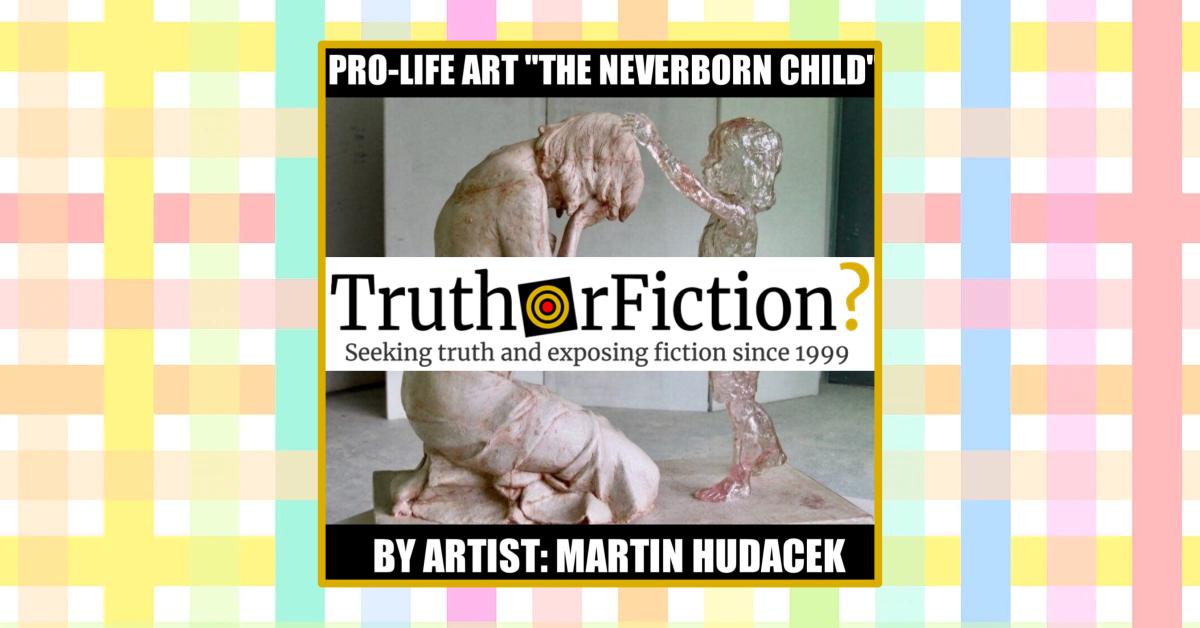 Pro-Life Art: 'The Neverborn Child' Meme