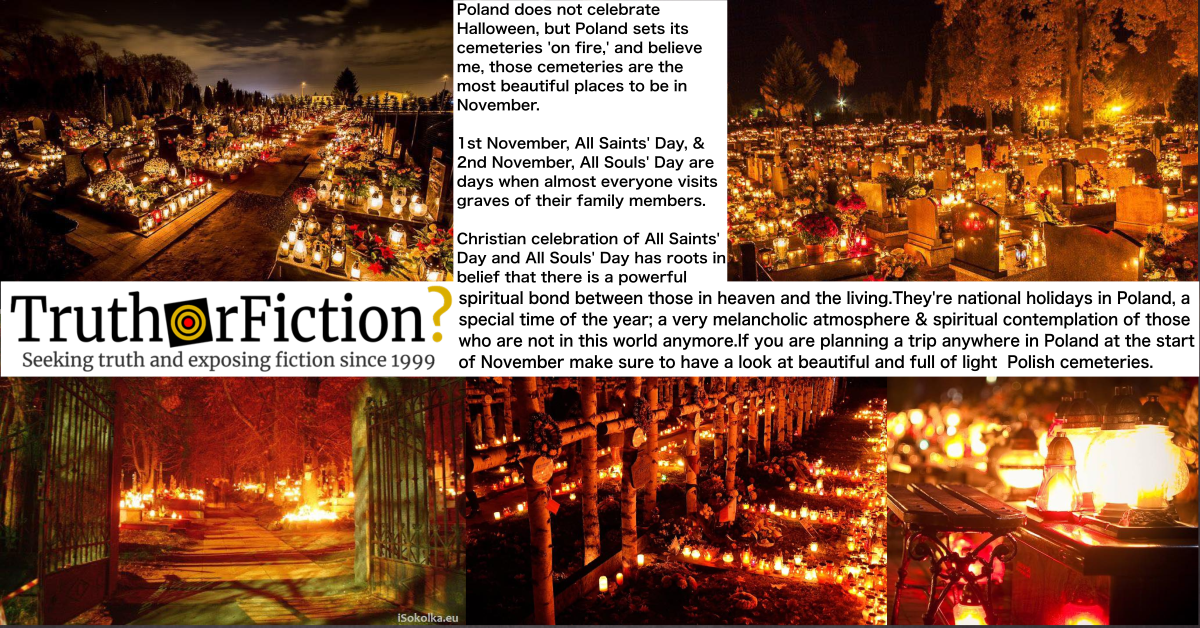 All Saints' Day and All Souls' Day in Poland