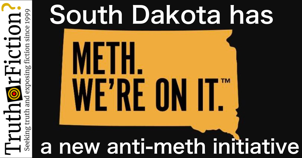 South Dakota's $449,000 Anti-Meth Initiative Goes Viral — for the Wrong Reasons