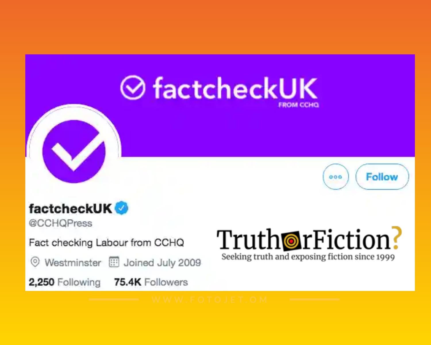 UK's Conservative Party's Communications Team Briefly Rebrands to Mislead Public