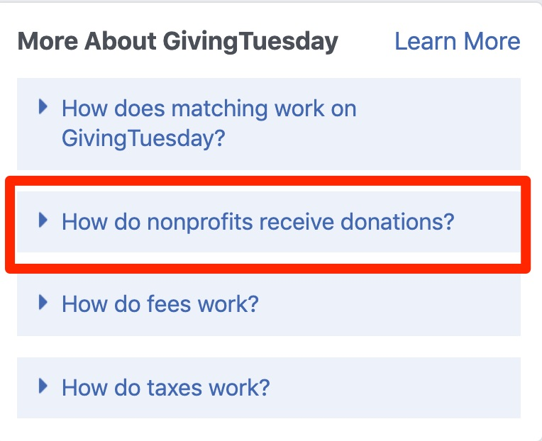 givingtuesday scams