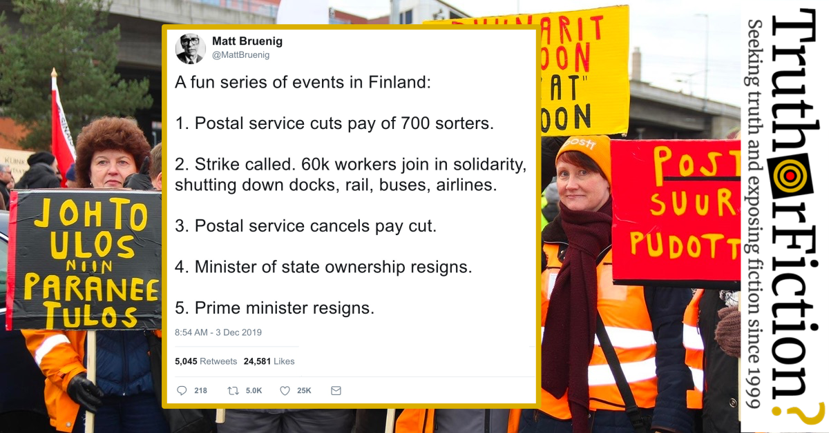 A Fun Series of Events in Finland