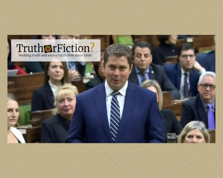 Canadian Conservative Leader's Resignation Follows String of Public Falsehoods
