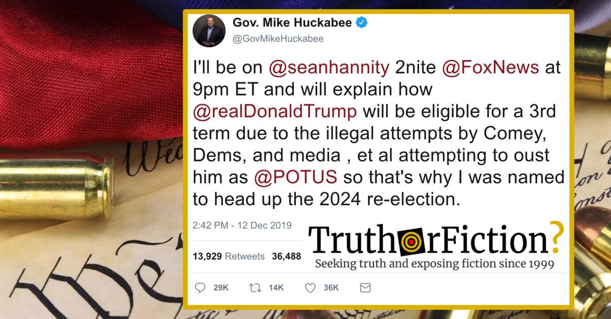 Mike Huckabee, Sean Hannity, and 'Trump 2024'