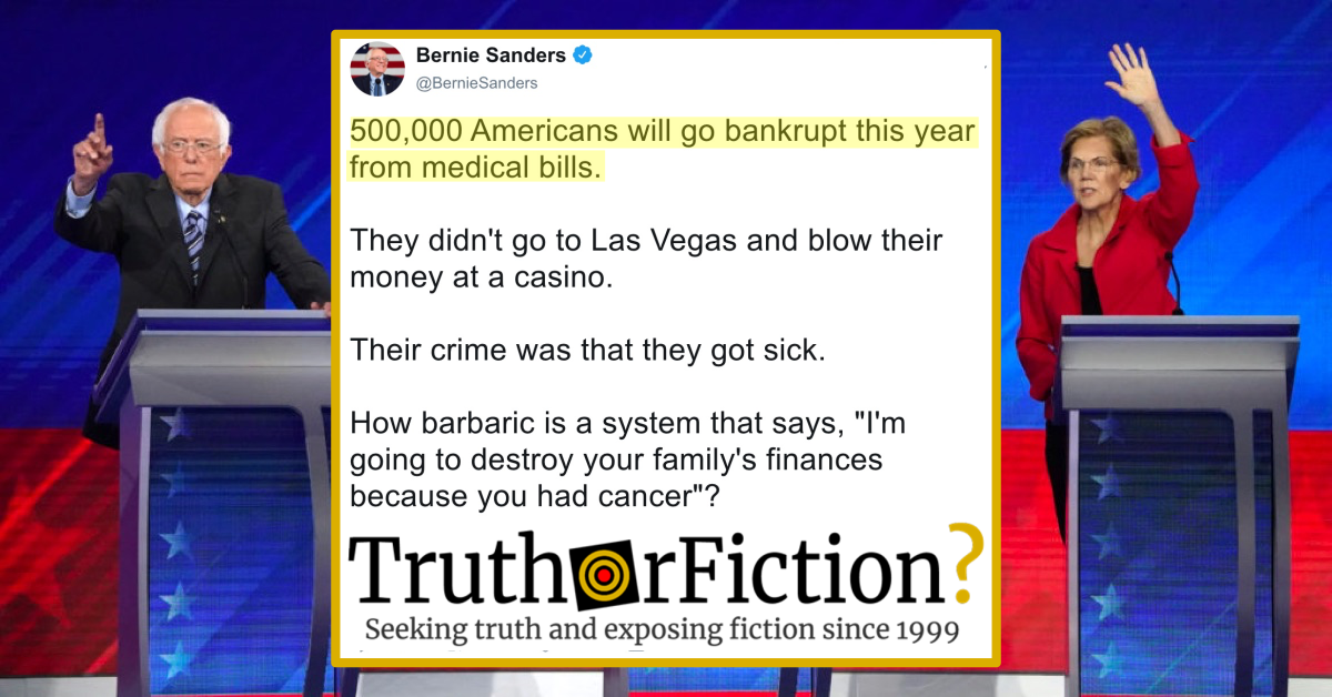 500,000 Americans Will Go Bankrupt This Year from Medical Bills?