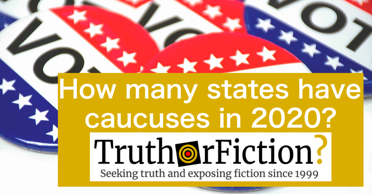 Which States Will Caucus in 2020?