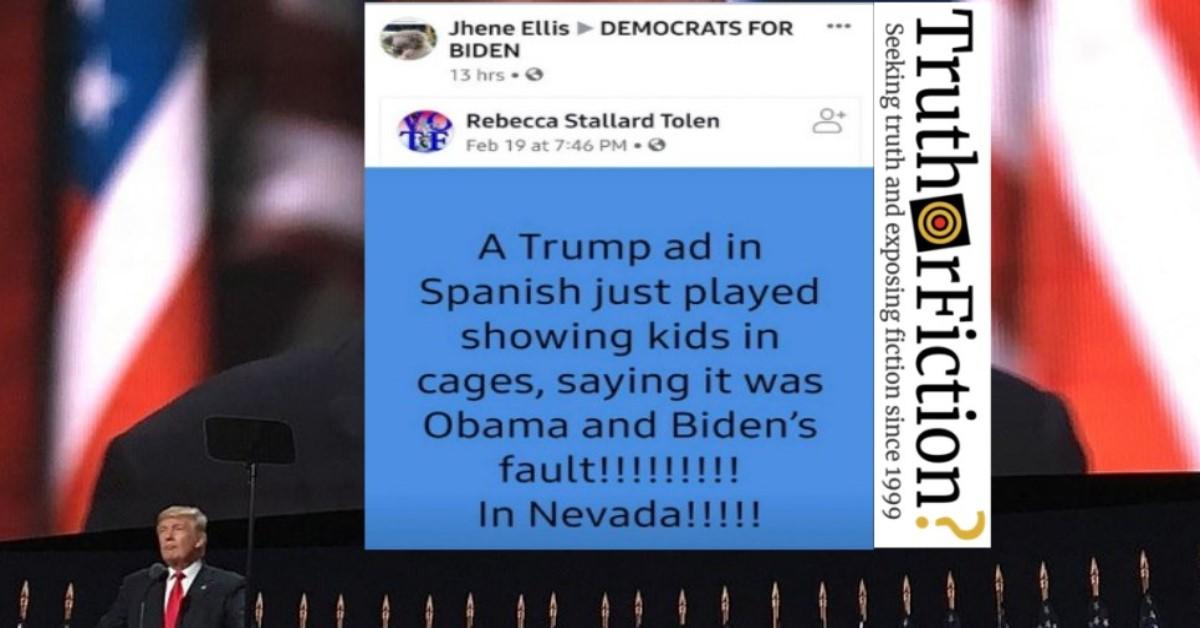 Pro-Trump Nevada Ad Regurgitates Anti-Obama Immigration Disinformation