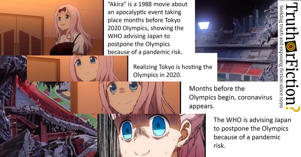 Did Akira Predict A 2020 Coronavirus Outbreak Truth Or Fiction