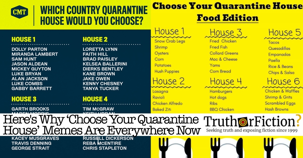 'Choose' or 'Pick' Your 'Quarantine House' and Other Engagement Bait During COVID-19
