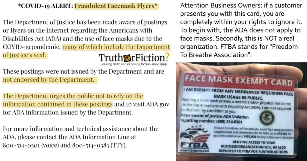 HIPAA ADA department of justice freedom to breathe association