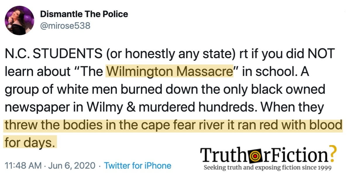 The Wilmington Massacre