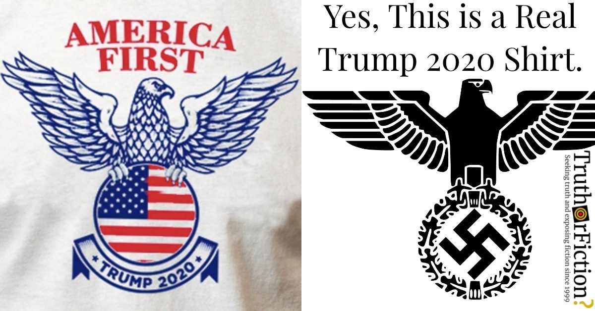 Is This 'America First' Trump 2020 Shirt Real?