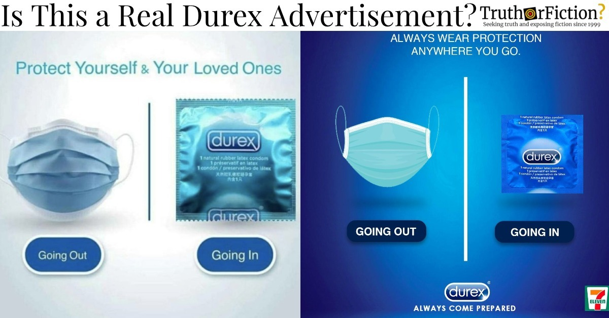 Is this Durex Coronavirus Ad Real?