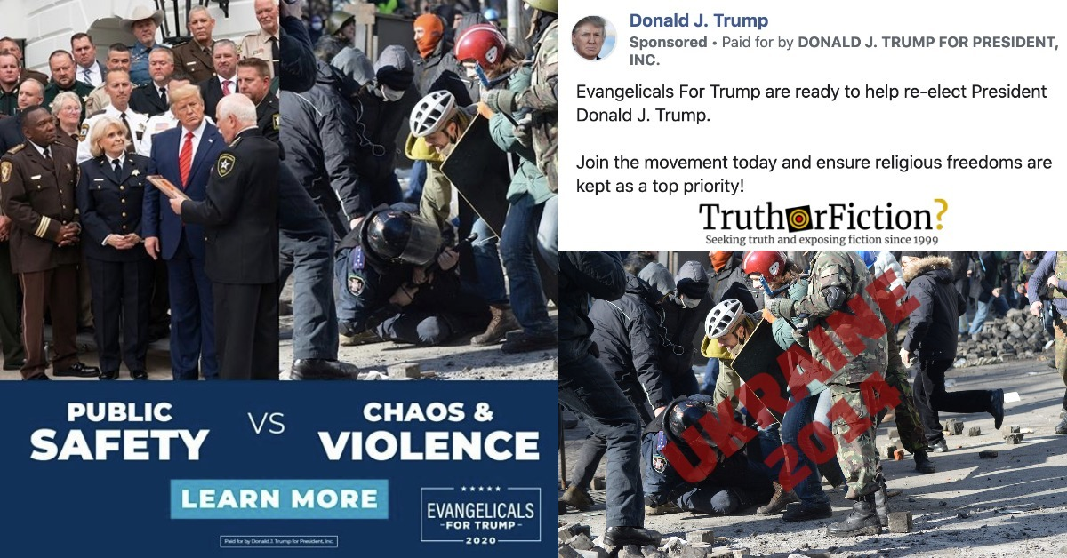 The Trump Campaign's 'Public Safety vs. Chaos and Violence' Ad