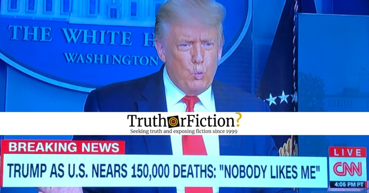 Donald Trump: 'Nobody Likes Me'