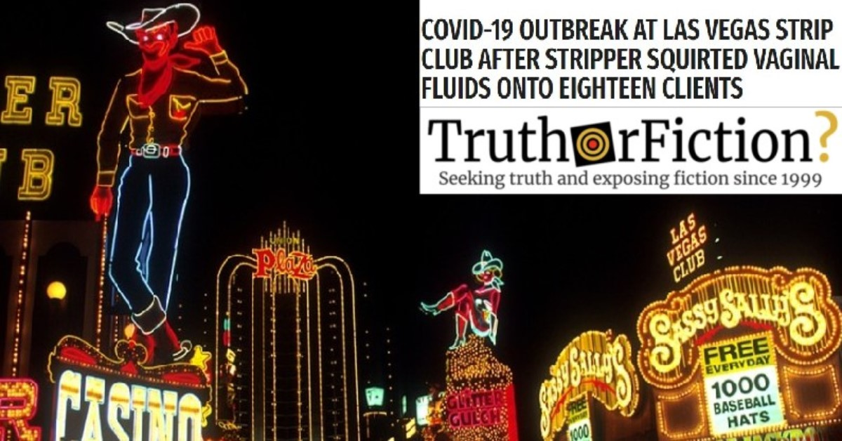 Was There a Potential COVID-19 Outbreak at a Las Vegas Strip Club?