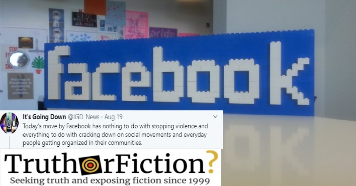 'A Pound of Flesh': Facebook's Provides Little Explanation for Anti-Fascist Takedown