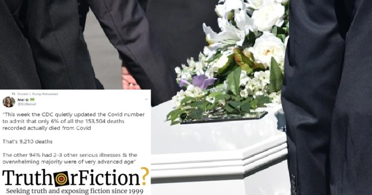 Were 94 Percent of COVID-19 Deaths Caused by 'Underlying Conditions'?
