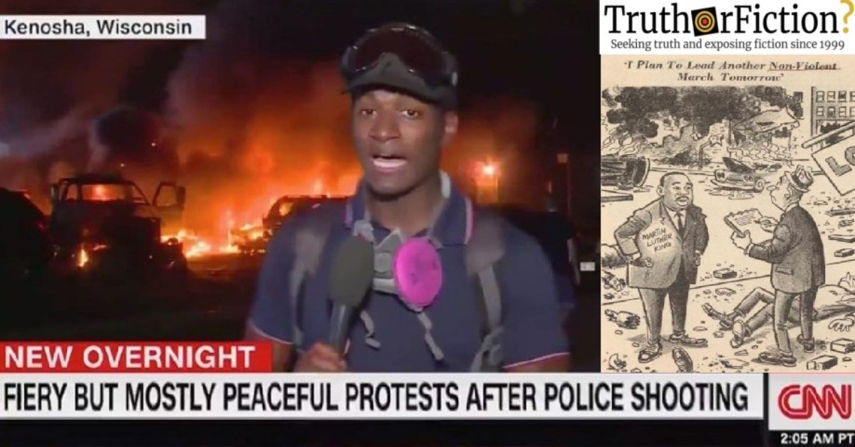'I Plan to Lead Another Non-Violent March Tomorrow'