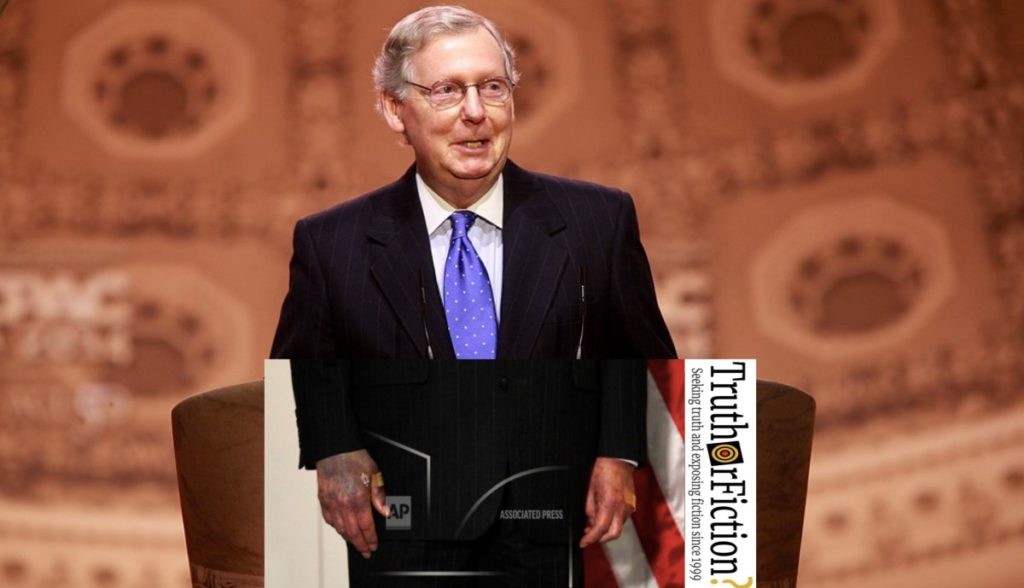 Is This an Associated Press Photograph of Sen. Mitch ...