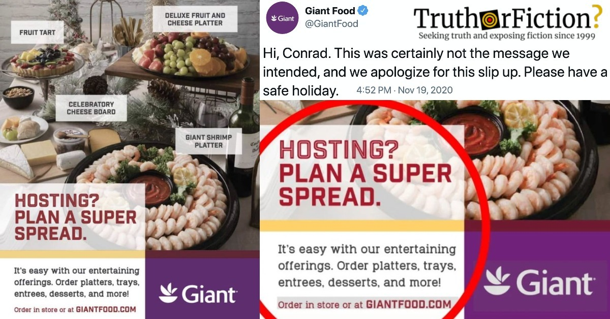 Giant Food 'Super Spread' Ad