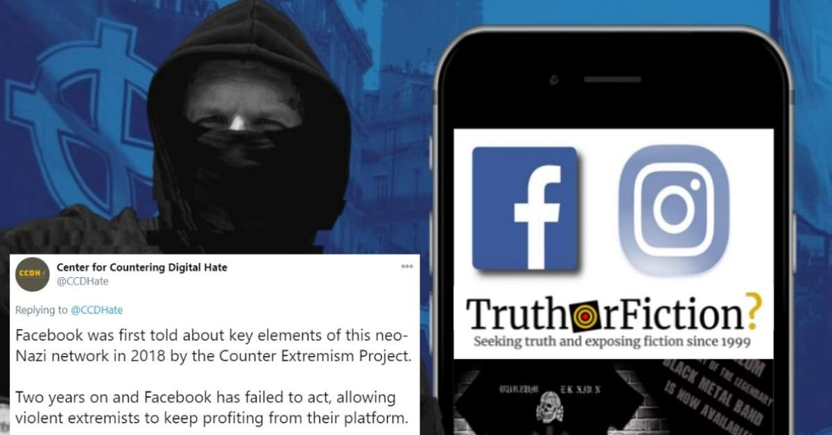 Activists Accuse Facebook of Ignoring Warning on Neo-Nazi Groups' Spread
