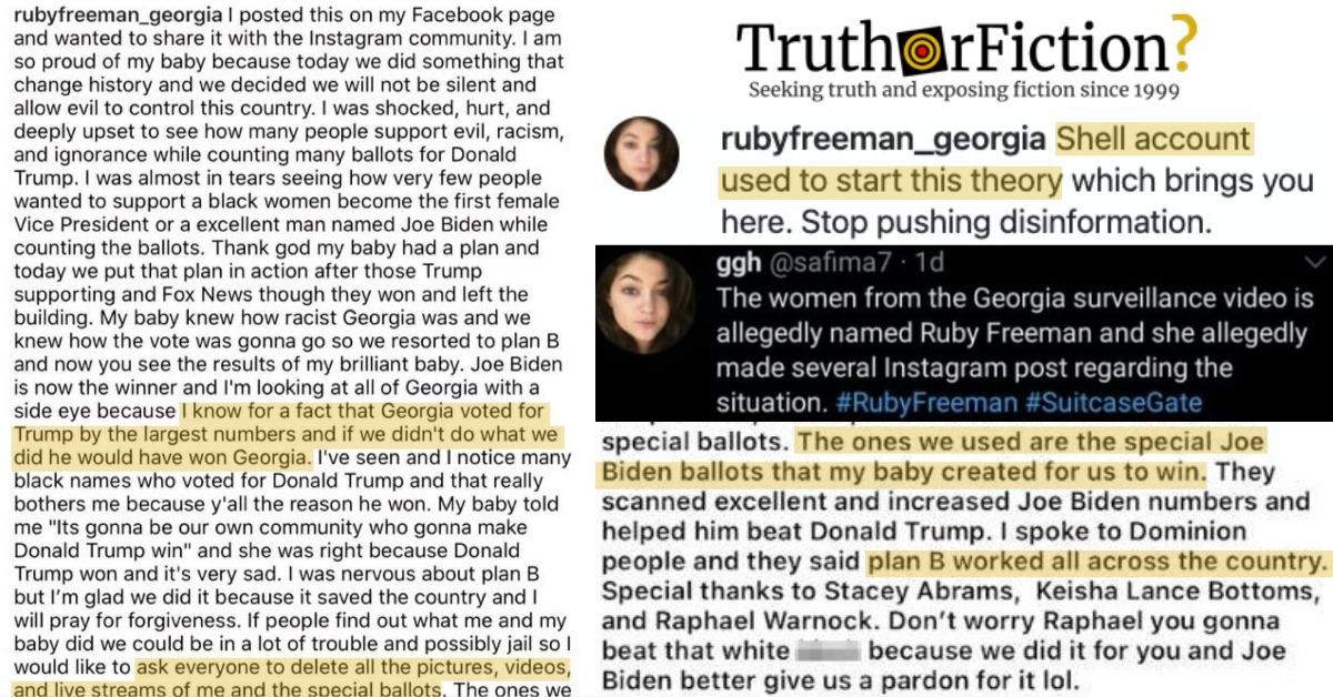 'RubyFreeman_Georgia' Instagram Post