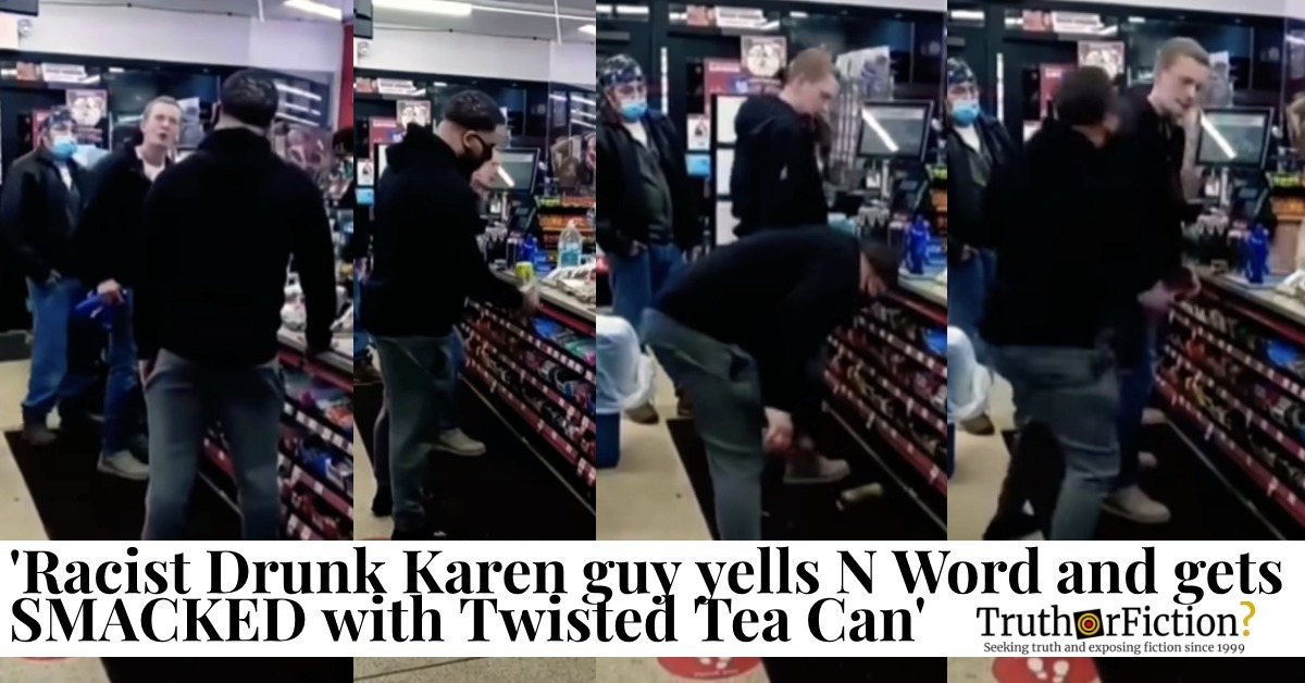 Twisted Tea Circle K Fight Video Spreads Virally